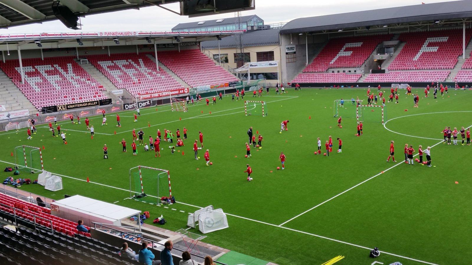 FFKs Fotballskole uke 32 2015