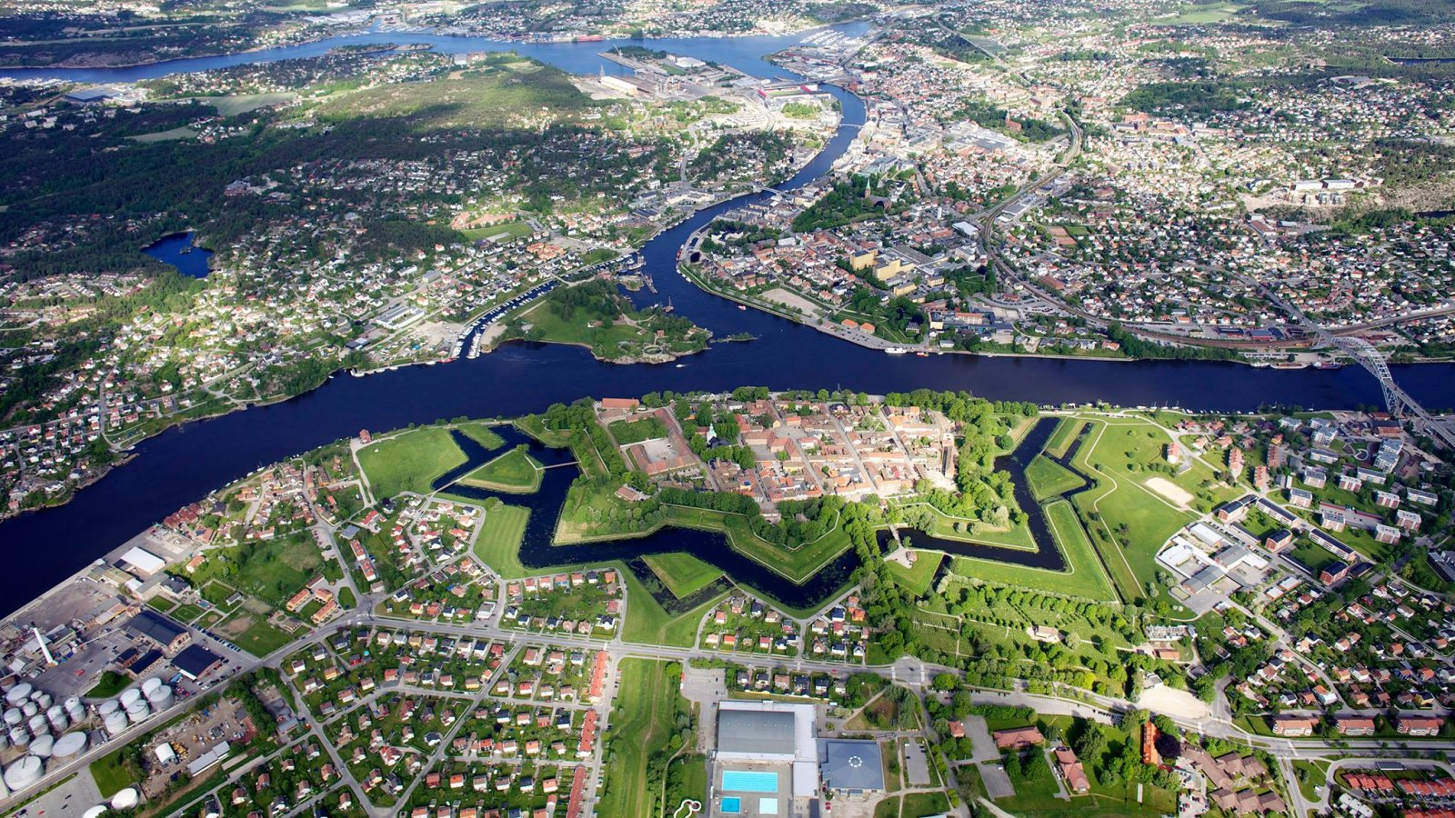 The City Fredrikstad