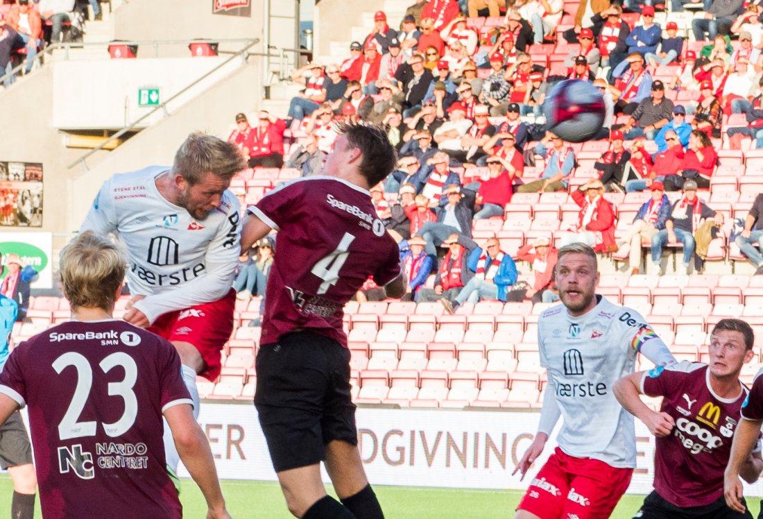 Tim Nilsen forsøker seg