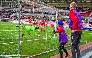 FFK - Kongsvinger 1-1 2016 FFK jubler for mål