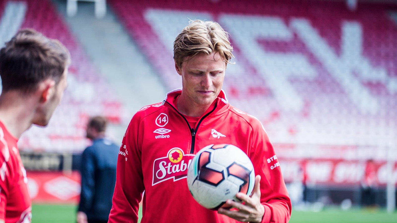 Trening på Stadion mai 2016 - Andreas Aalbu