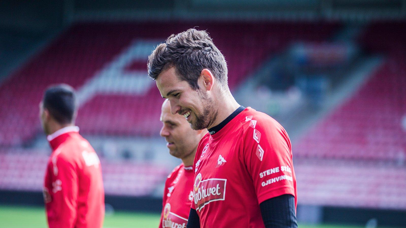 Trening på Stadion mai 2016 - Martin Thømt Jensen