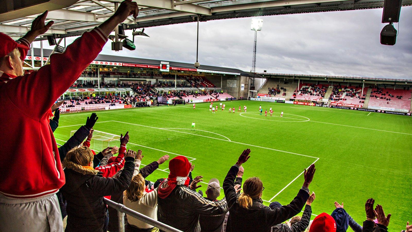 FFK - Kongsvinger 1-1 2016 Tilskuere på tribune